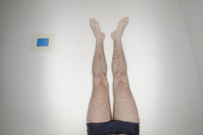 pernas no ar